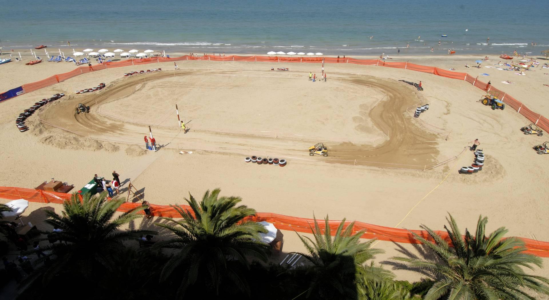 Spiaggia adibita